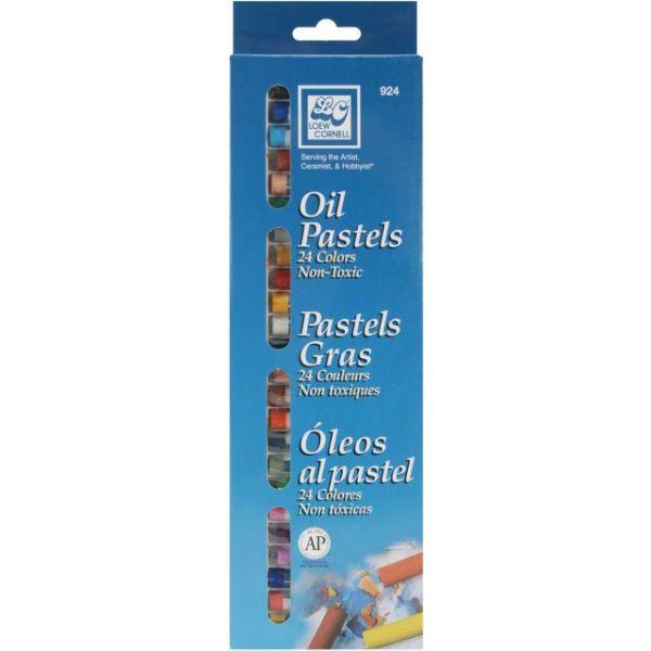 Oil Pastels 24/Pkg