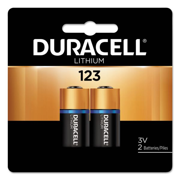 Duracell 123 Ultra Photo Battery