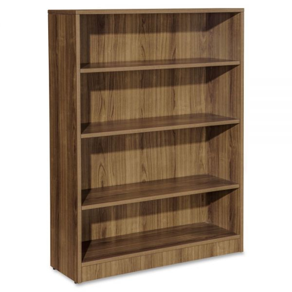 Lorell Essentials 4-Shelf Bookcase