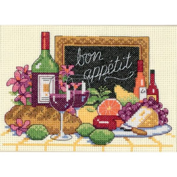 Bon Appetit Counted Cross Stitch Kit
