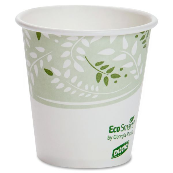 Dixie EcoSmart 10 oz Paper Coffee Cups
