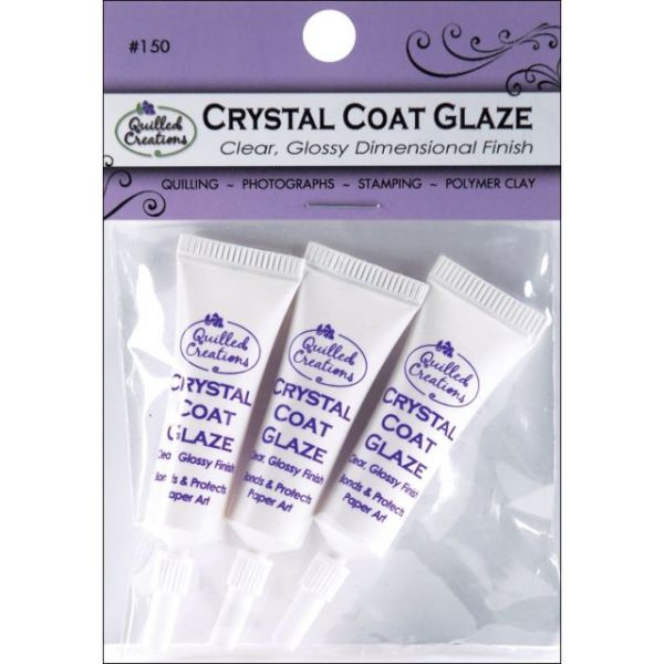 Crystal Coat Glaze 3/Pkg