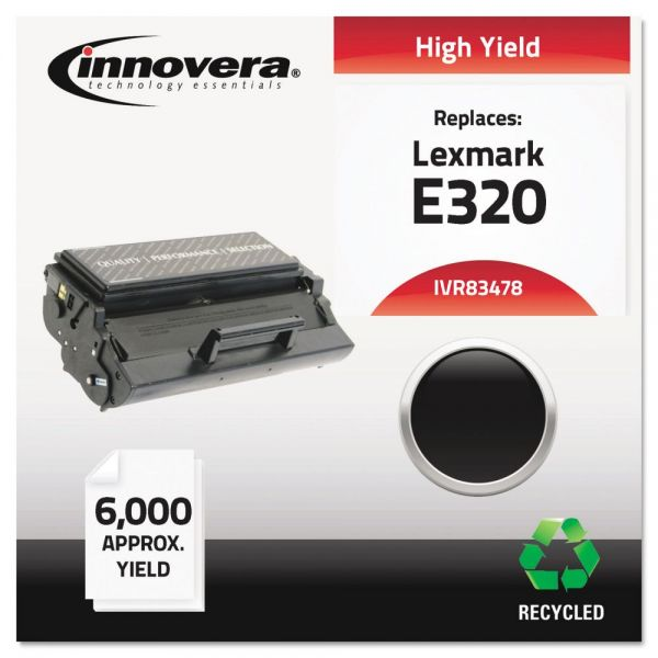 Innovera Remanufactured Lexmark E320 High Yield Toner Cartridge