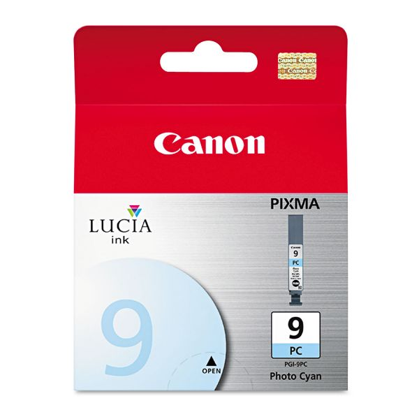 Canon PGI-9PC Photo Cyan Ink Cartridge (1038B002)