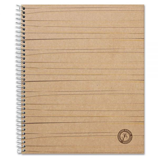 Universal Sugarcane Based Notebook, College Rule, 11 x 8 1/2, White, 100 Sheets