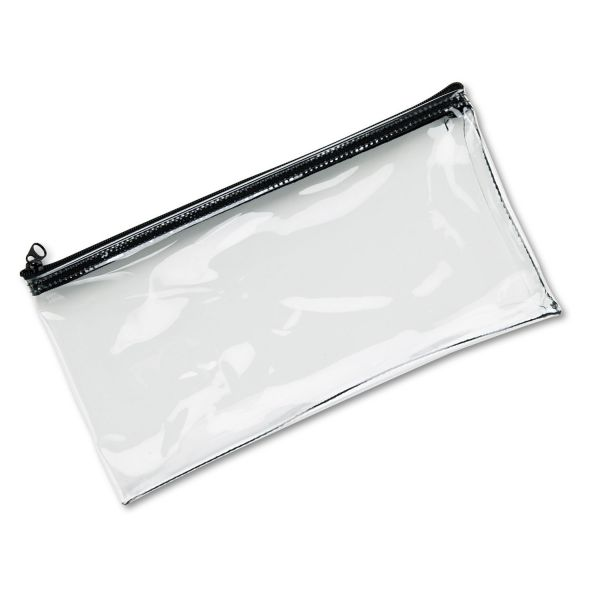 MMF Clear View Vinyl Zipper Bag