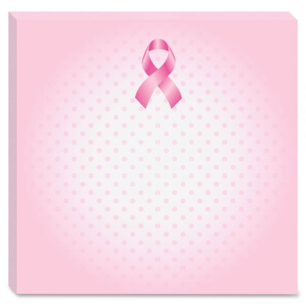 "Post-it 3"" x 3"" Breast Cancer Awareness Notes"