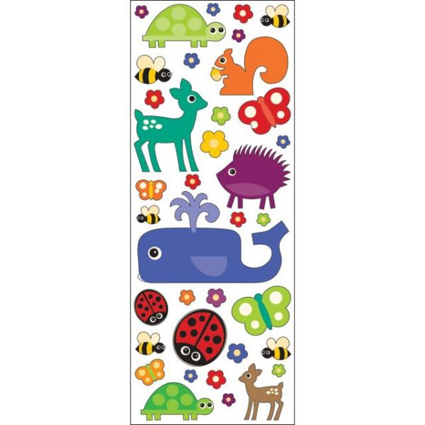 Sticko Puffy Classic Stickers