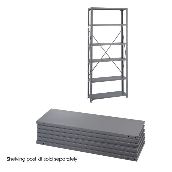 Safco Heavy-Duty Industrial Steel Shelves
