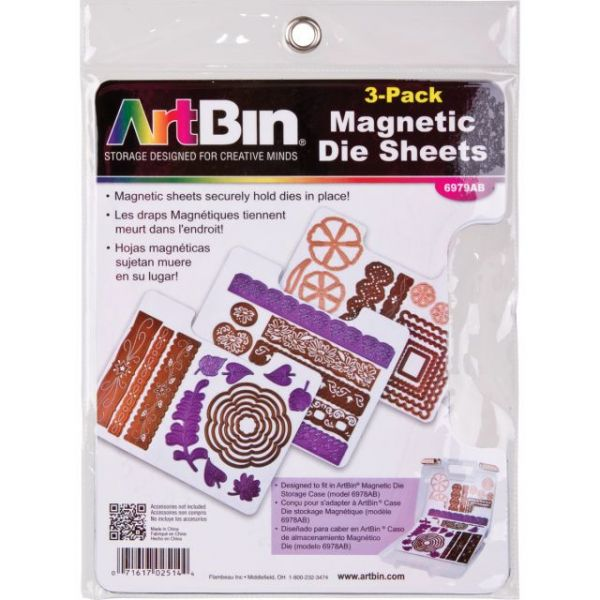 ArtBin Magnetic Sheets 3/Pkg