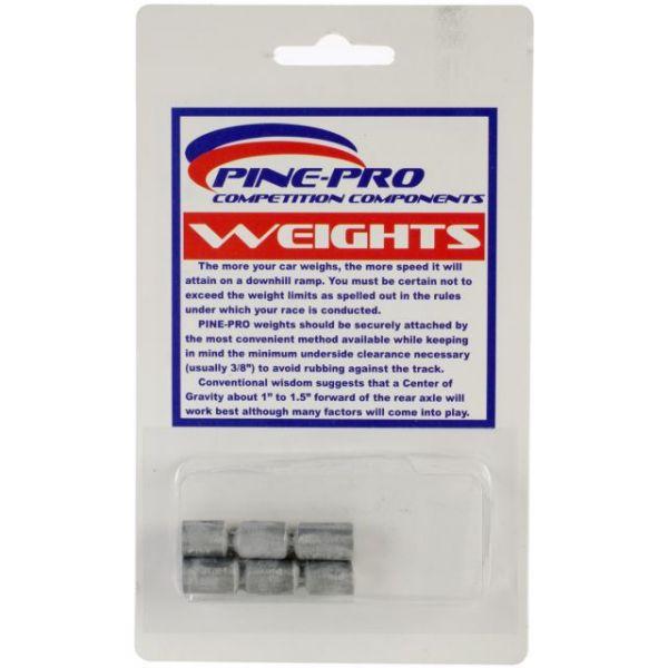 Pine Car Derby Weights 1.5oz 6/Pkg