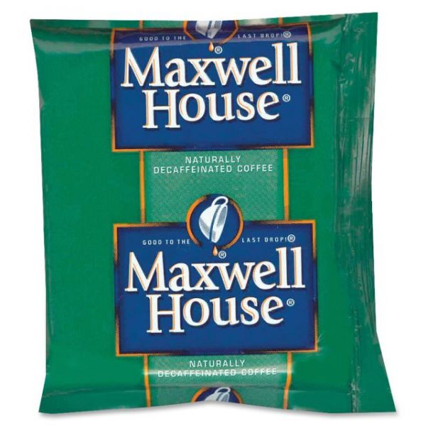 Maxwell House Coffee Packs - Decaf
