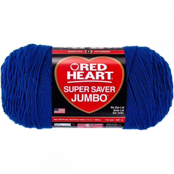 Red Heart Super Saver Yarn - Royal