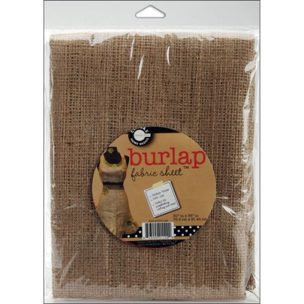 """Burlap Fabric 30""""X36"""""""