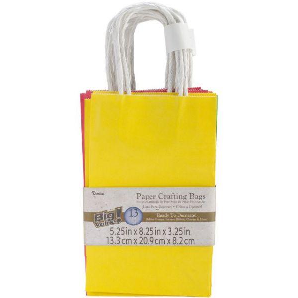 "Paper Bags 3.25""X5.25""X8.375"" 13/Pkg"