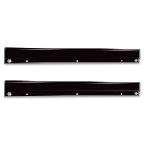 Safco E-Z Stor wall mount brackets, 1 set