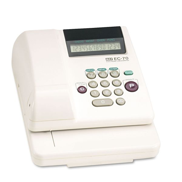 MAX 14-digit Print Electronic Check Writer