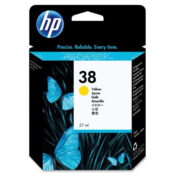 HP 38 Yellow Ink Cartridge (C9417A)