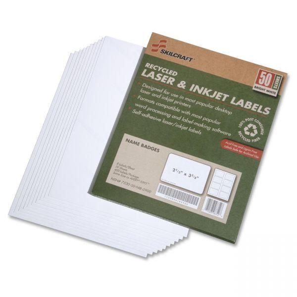 Skilcraft Name Badge Labels