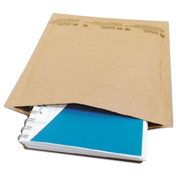 Universal Jiffy Natural Self Seal Cushioned Mailer, #5, 10 1/2 x 16, Kraft, 80/Carton