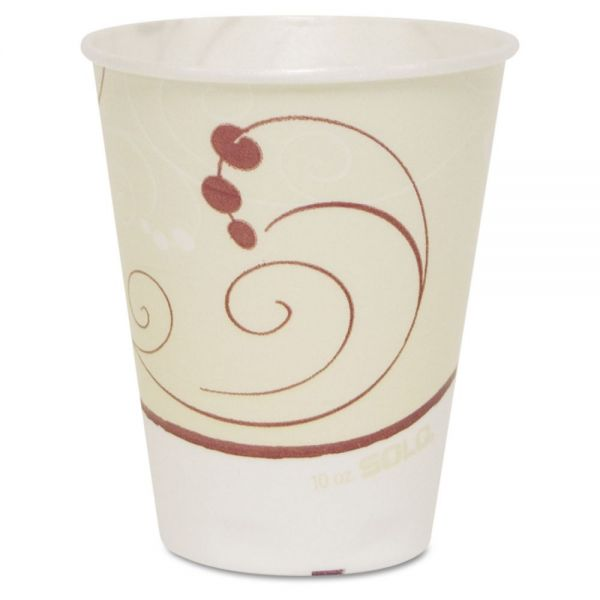SOLO Symphony Trophy Plus Dual Temperature 10 oz Foam Cups