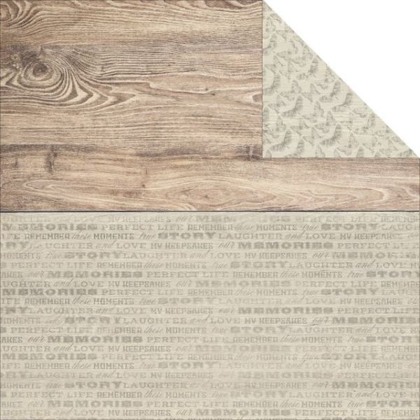 "Rustic Harmony Double-Sided Cardstock 12""X12"""