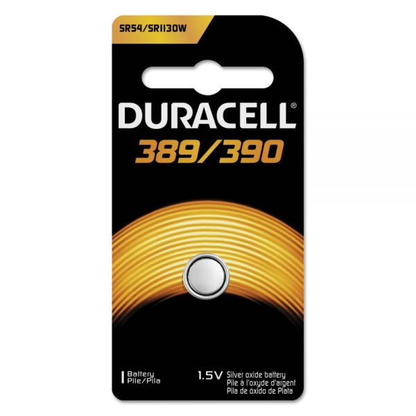 Duracell Silver Oxide Medical Battery, 389/390, 1 Each