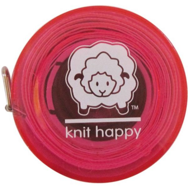 Knit Happy Tape Measure 60""