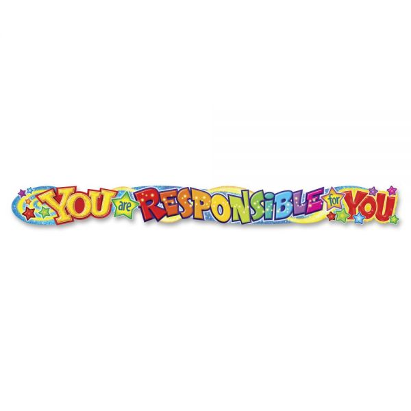 You Are Responsible For You Banner