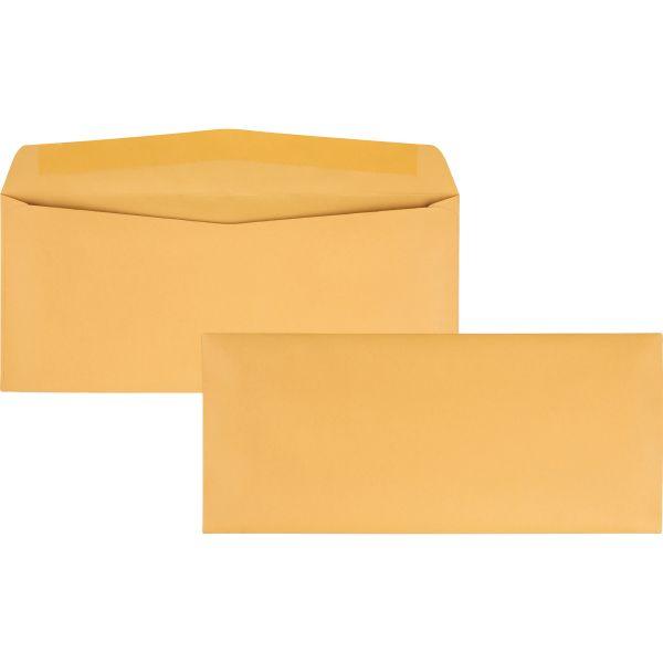 Quality Park Kraft Envelope, #11, 4 1/2 x 10 3/8, Brown Kraft, 500/Box