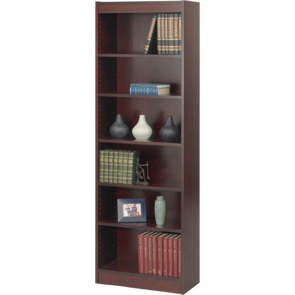 Safco 6-Shelf Veneer Baby Bookcase