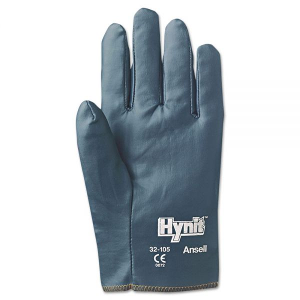 AnsellPro Hynit Nitrile-Impregnated Gloves, Size 9