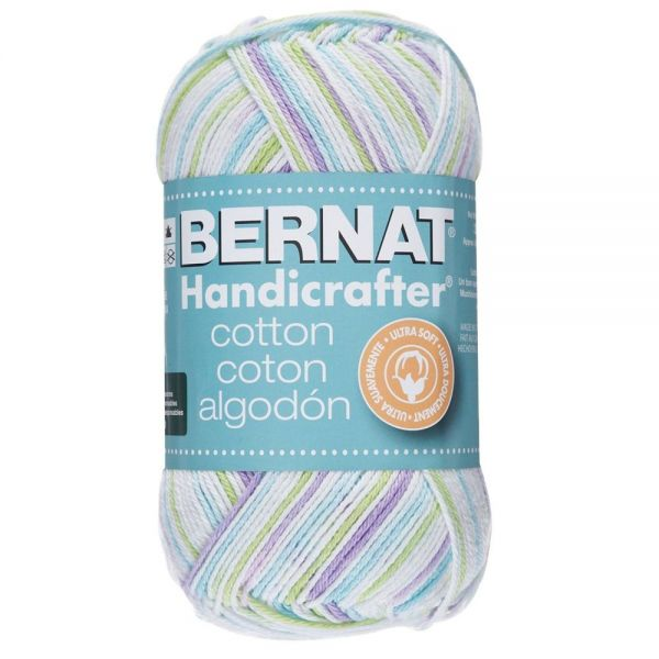 Bernat Handicrafter Cotton Yarn - Lavender Ice
