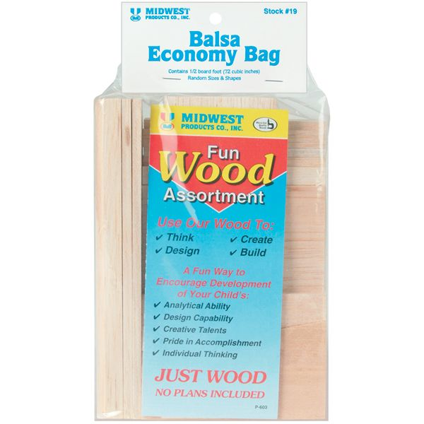Wood Assortment Economy Bag