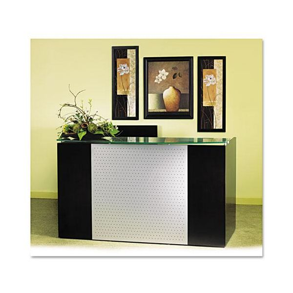 Tiffany Industries Eclipse Series Reception Desk Shell, 72w x 36d x 43-1/2h, Espresso
