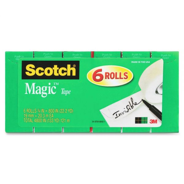 Scotch Magic Invisible Tape Refills