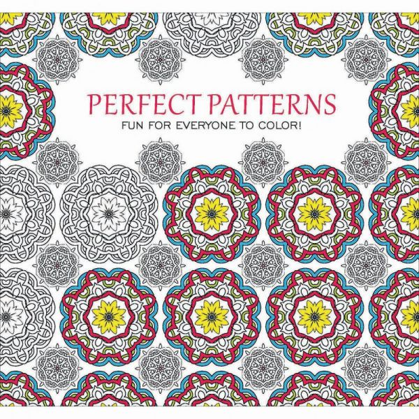 Leisure Arts: Color Perfect Patterns Coloring Book