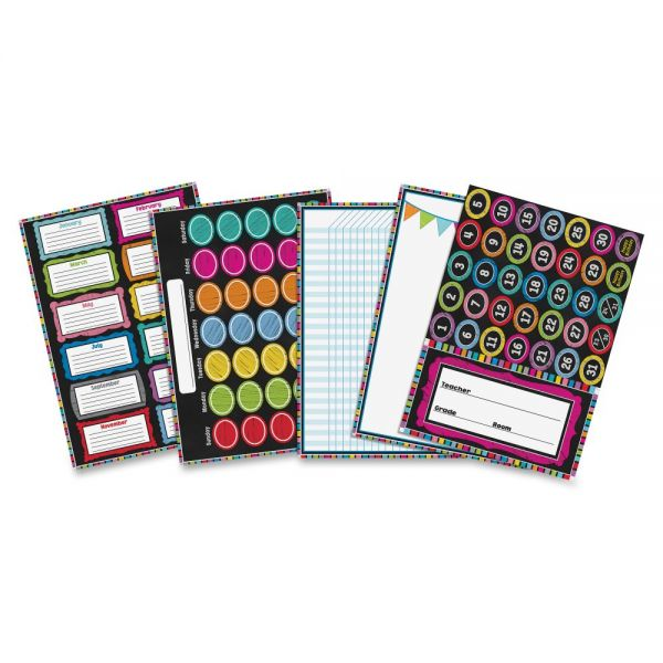 Carson-Dellosa Colorful Chalkboard Bulletin Board Set