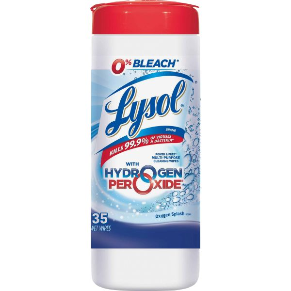 LYSOL Brand Power & Free Multi-Purpose Disinfectant Wipes