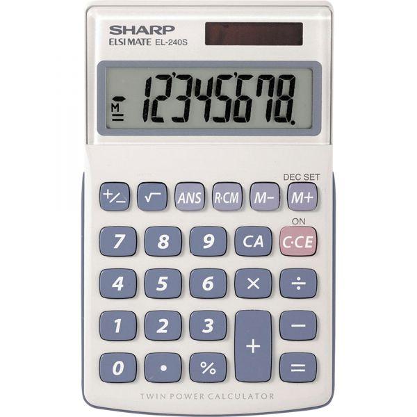 Sharp EL-240SB Pocket Calculator