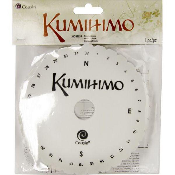 "Kumihimo Braiding Loom 5.375"""
