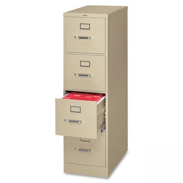 HON 320 Series 4-Drawer Vertical File Cabinet