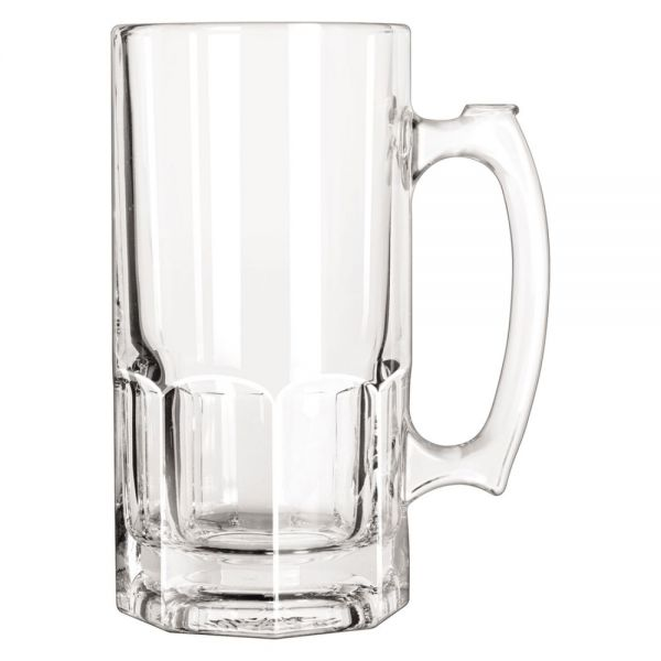 Libbey 34 oz Glass Super Mugs