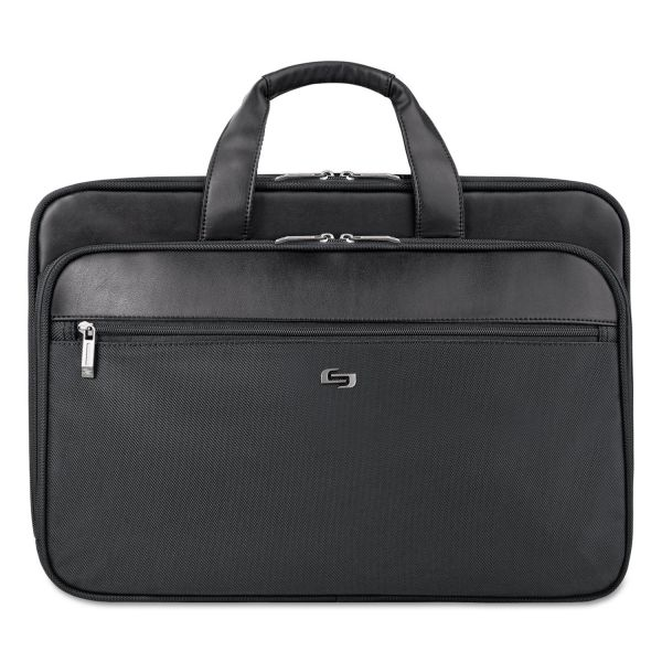 "Solo Classic Carrying Case (Briefcase) for 16"" Notebook, Accessories - Black"
