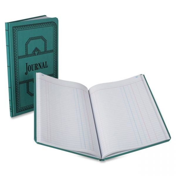 Boorum & Pease Boorum 66 Series Blue Canvas Journal Book