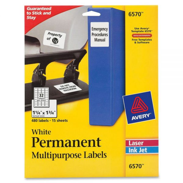 Avery Permanent I.D. Labels