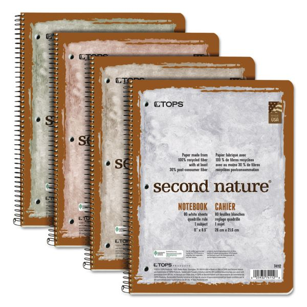 TOPS Second Nature Spiral Notebook