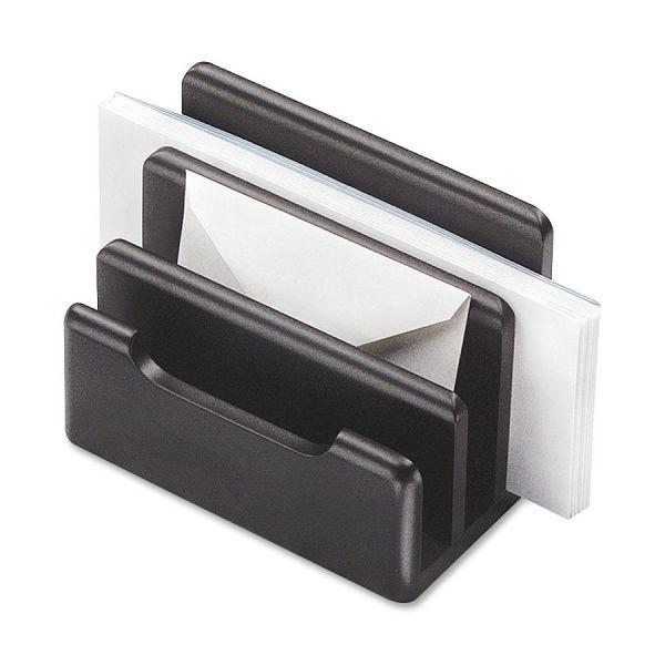 Rolodex Black Wood Mini Sorter