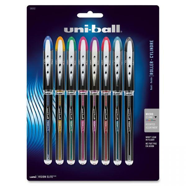 Uni-Ball Vision Elite Rollerball Pens