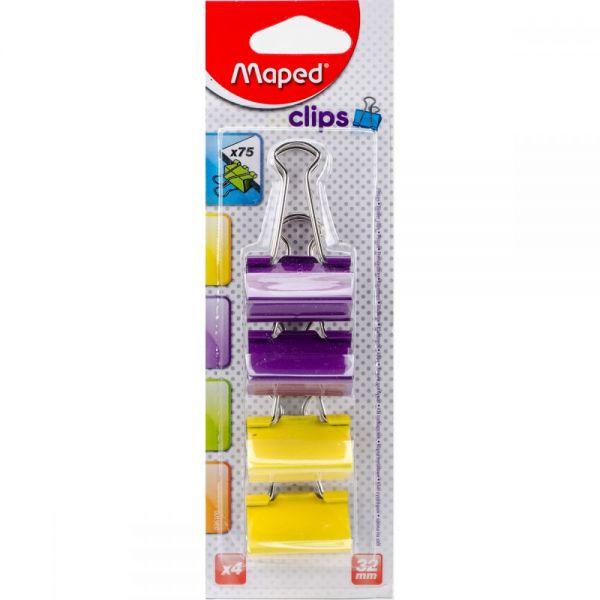Binder Clips 4/Pkg